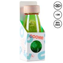 Senzorická plovoucí lahev - zelená 250ml